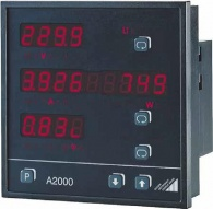 Многофункциональный измеритель мощности для 3-фазных систем A2000